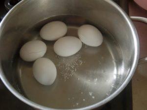 温泉卵作り方