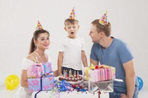 誕生日ケーキ(アメリカ式)