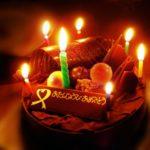 誕生日ケーキ ろうそく