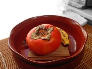 熟れすぎた柿