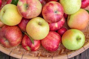 りんご・青赤ごちゃ混ぜ