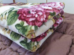 毛布の使い方