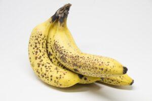 バナナの皮に黒い斑点