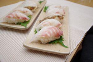 白身魚の寿司