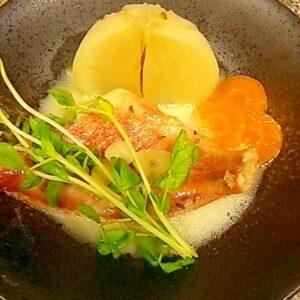 赤魚と野菜のクリーム煮