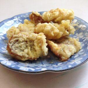 赤魚の天ぷら・フリッター