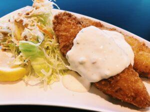 白身魚フライ定食