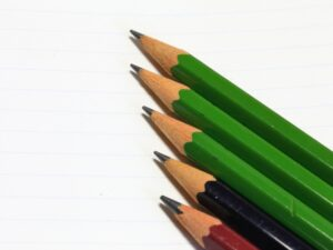 小学生の鉛筆の濃さ