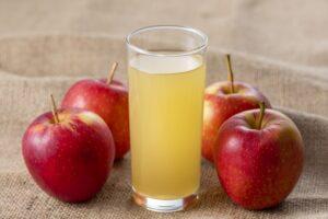 りんごジュースも風邪にいい