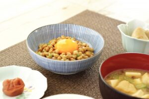 納豆と生卵の食べ合わせ